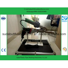 Máquina de soldadura portátil das hastes plásticas da extrusora Sudj3400-a