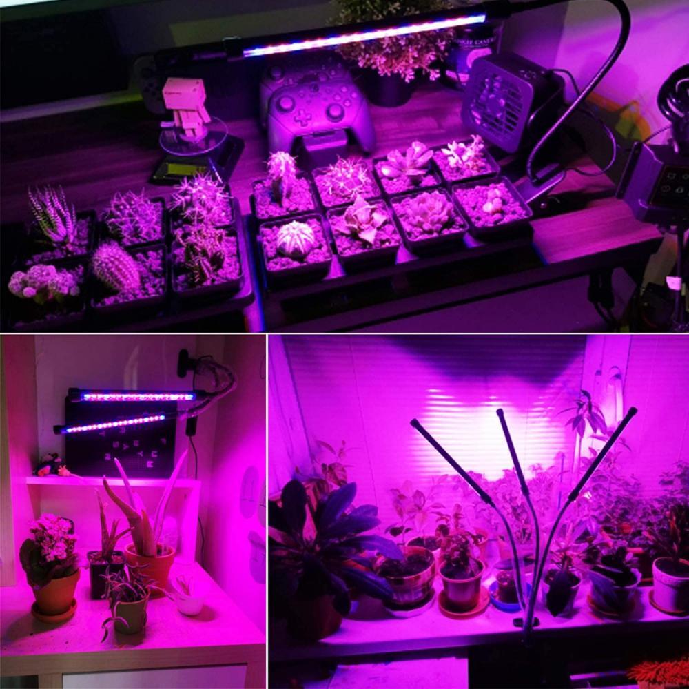 clamp-on led grow light fixture