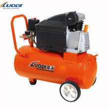 Portable air compressor for spray gun