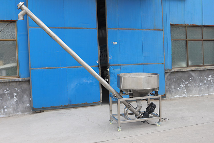 Introduction modular TU tubular screw conveyor feeder machine