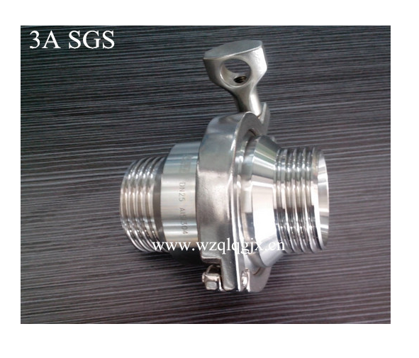Maled Threaded Check Valve
