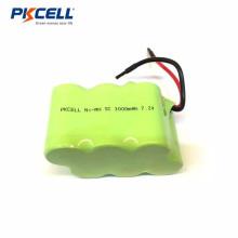 Batería recargable 7.2v sc3000mah paquete de batería recargable