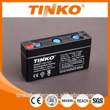 rechargeable battery 6V 1.3ah for motorcycles