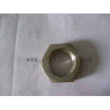 "2-1 / 2 ""acero inoxidable 316 DIN2999 tuerca hexagonal"