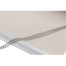 Roller blind double clutch and steel chain component
