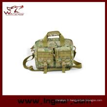 Sac d'ordinateur portable affaires militaires pour l'armée Sling Bag Sac à main