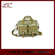 Bolso del ordenador portátil de negocios militares de ejército cabestrillo bolsa de mano