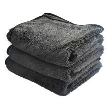 Pano fino para lavagem de carros de fibra treliça de trama