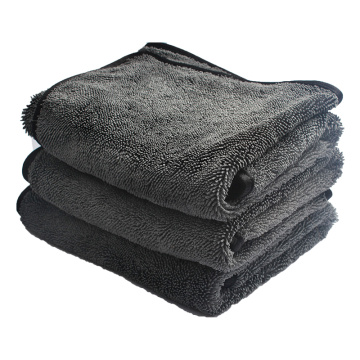 Superfine Weft Lattice Fiber Pigtail Car Wash cloth