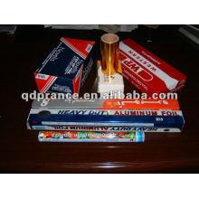 Рулон алюминиевой фольги для упаковки пищевых продуктов