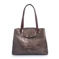 New Fall Grain Leather Casual Damen Schulter Handtaschen