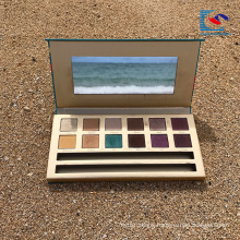 Hot Selling cosmetics makeup eyeshadow palette with brush