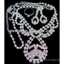 Costume wedding jewelry set (GWJ12-419)