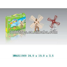 Brinquedo solar de moinho de vento de venda superior