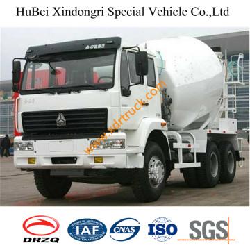 10cbm HOWO Concrete Pump Mixing Truck Euro3