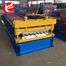 Fast Delivery for China Manufacturer of Wall And Roof Tile Making Machine,Wall And Roof Tile Roll Forming Machine Rolling forming roof and roofing used metal panel making machine export to Antarctica Factory
