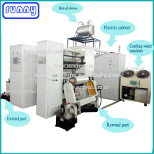 Seamless holographic laser plastic film embossing machine for PET SHANTOU SUNNY Manufacturer