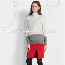 nueva ropa de punto de las mujeres de la cachemira de las mujeres de la moda, suéter de la cachemira de la señora