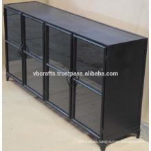 Industrial Vintage Metal Cabinet