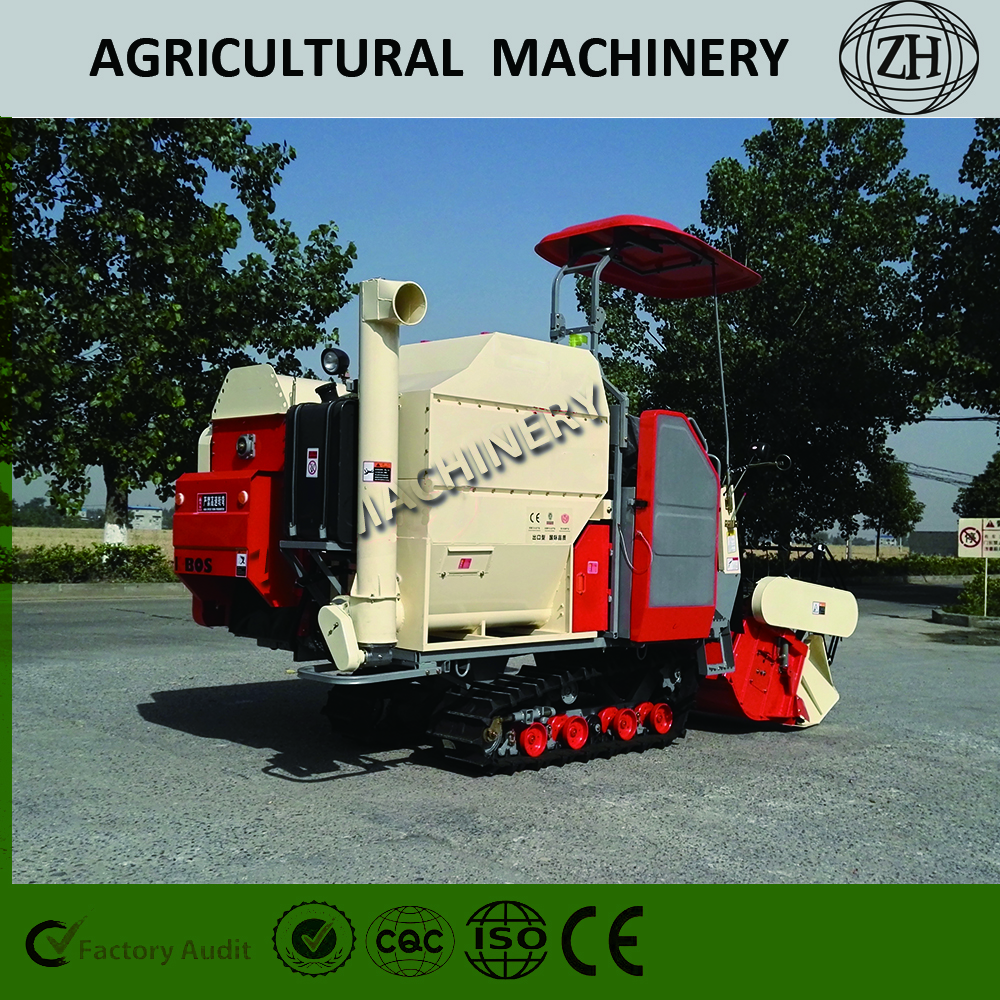 ZH Brand Small Grain Combine Harvest Machine