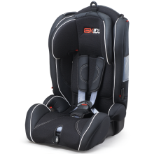 Child car seats with grey-orange cover