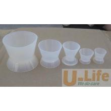 Чашка чашки смешивания силикона зубоврачебная (отсутствие приклеивая чашки смешивания)