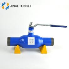 Les conduites de gaz naturel utilisent une vanne à bille soudée entièrement calibrée