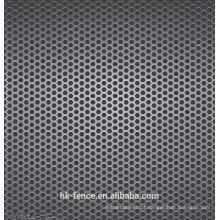 chapa de aço inoxidável 3mm de espessura 50% abertura taxa de perfuração buraco malha