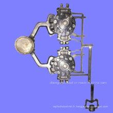 Pièces détachées en aluminium personnalisées en fonte d'aluminium