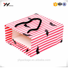 High quality pakage kraft paper bag craft birthday gift party bag