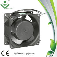 80 mm impermeable IP65 uso al aire libre 80 * 80 * 38 mm 220 voltios AC Fan