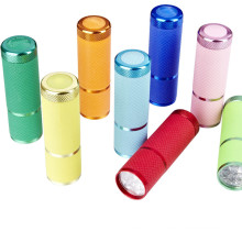 Aluminum Dry Battery LED Flashlight
