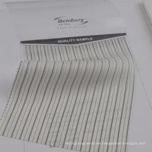 Polyester-Cupro-Anzugfutter für Mann mit Streifenentwurf