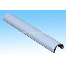 Barra de luz LED aluminio perfil redondo medio