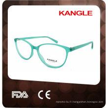 2017 Conception simple avec des montures de lunettes optiques en métal