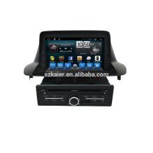 Kaier Octa core 6.0 / 7.1 Auto Système de navigation audio pour Renault Megane 3 Iran version avec MP3 BT Radio Musique