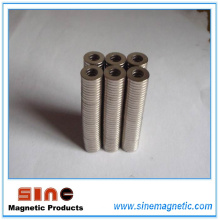 High Performance Neodymium Ring Magnet N50/N50m Mgoe
