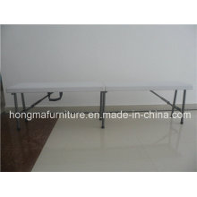 6FT Outdoor Furniture of Plastic Folding Bench for Picnic Use with Factory Price