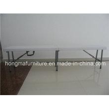 6FT Móveis ao ar livre de bancada de plástico para uso piquenique com preço de fábrica