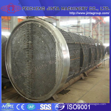 Re-Boiler Heat Exchanger in Alcohol Project