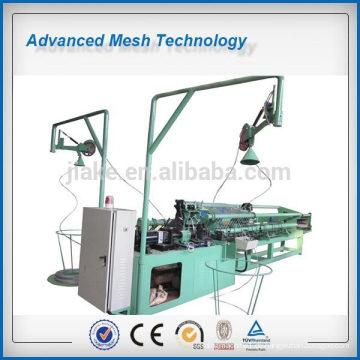 PVC-beschichtete Stahlmaschendraht-Kettenglied-Zaun Webmaschine