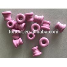 Ojales de cerámica textil / guías de hilo con ranura