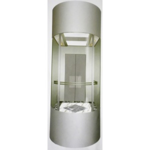Elegent Panoramic Passenger Elevator With Glass Cabin