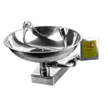 Hot selling High quality 304 Stainless steel Emergency Wall mounted eye wash Factory price