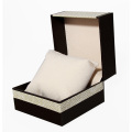Luxury PU Fancy Embossing Paper Watch Gift Box