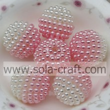 19MM New Design Fantastic Faux Necklace Pearl Pink Color