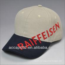 Estilo americano gorra de beisbol