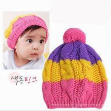 Crianças / bebê de malha Crochet Beanie Hat / Cap
