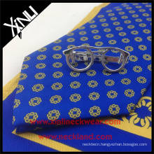 Novelty Design Handmade 100% Printed Silk Pint Men's Ties