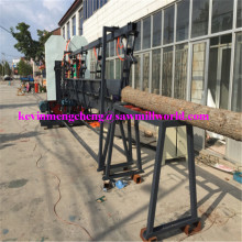 CNC Twin Vertical Saw Automatic Bandsaw High Frequency Bandsaw Wood Band Sawmill